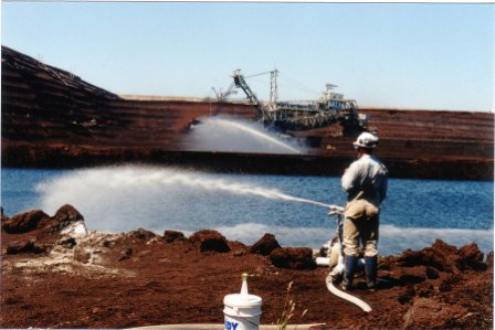 Earth Systems using its rapidTREAT technology for treating water at a coal mine.